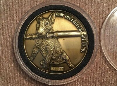 "STAR WARS Ep III ROTS ""Waiting in Line"" Target Bronze Coin #05697"
