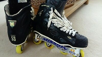 Mission Inline (Modified Goalie) Skates