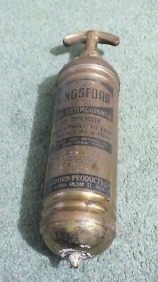 Antique Brass Fire Extinguisher The Kingsford