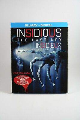 Insidious: The Last Key [Blu-ray + Digital] BRAND NEW w/ slipcover Horror