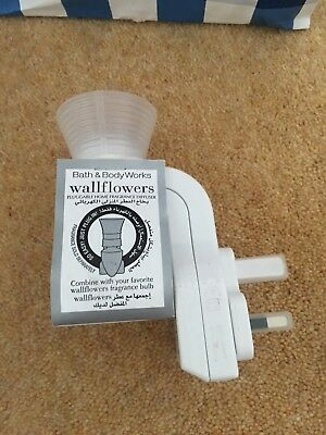 Bath And Body Works - Wallflower Plug In - UK 3 Pin Plug - White - UK Seller