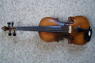 Antique Jacobus Stainer Full Size Violin And Case