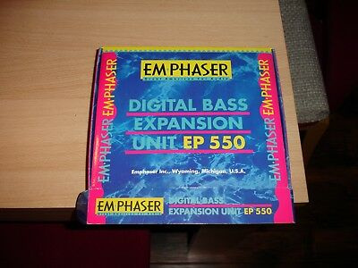 Emphaser EP-550 digital Bass Expander i. original Verpackung gebr.