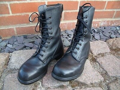 Genuine British Army Assault Combat Boots Size 258L UK 7 1/2 Size  Euro 38