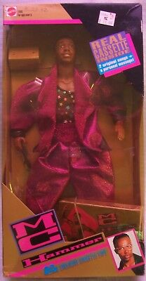 Vintage 1991 MC Hammer Doll w/ Exclusive Cassette Tape NRFB