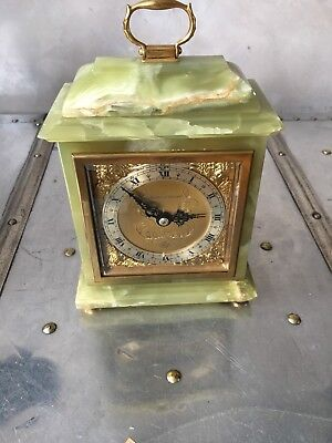 Mappin and Webb Onyx Carriage Clock NO RESERVE!! Ship Worldwide