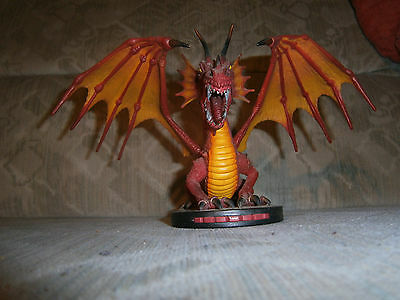 Mage Knight Forces of the Rebellion Feuerdrache Great Fire Dragon very old