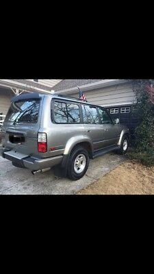1997 Toyota Land Cruiser  1997 Toyota Land Cruiser-40th Anniversary Limited Edition
