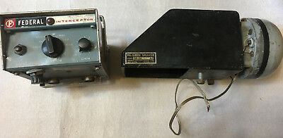 Federal Signal PA-20A Interceptor Electronic Siren and Speaker **FAST SHIPPING**