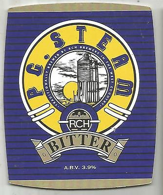 RCH Brewery - P G. STEAM - Beer Pump Clip Front