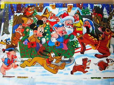 alter Adventskalender Micky Maus Walt Disney