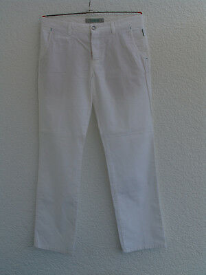 ALBERTO golf pants Modell ROOKIE Slim Fit  GR. 50 WEISS  TOP