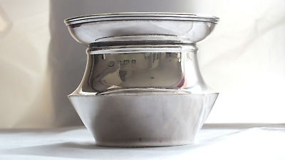 Solid Silver Rose Bowl Birmingham 1904 by Norton & White 5 ozs