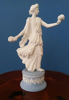Wedgwood The Dancing Hours Floral Posy Jasper ware Base 1997