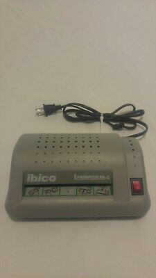 "Ibico Laminator HL-4 Laminates 4"" Wide Excellent Working Condition"