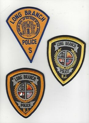 Long Branch Police- Set of 3 Variations