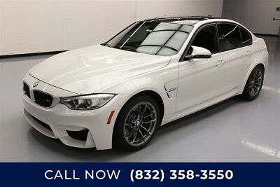 BMW M3  Texas Direct Auto 2015 Used Turbo 3L I6 24V Manual RWD Sedan Premium