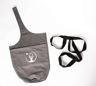 Yoga Mat Bag With Long Strap, Fit All Mat Sizes, Sling Carrier Tote Bag