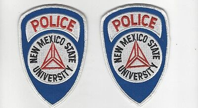 New Mexico  State University Police Set of 2