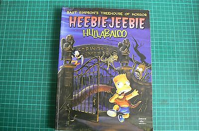 Simpson's Heebie Jeebie Hullabaloo Paperback Comic Great graphics