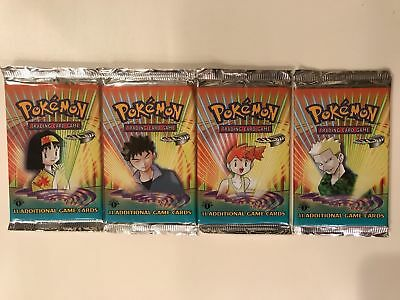 Pokemon 1st edition Gym Heroes Booster Pack OVP