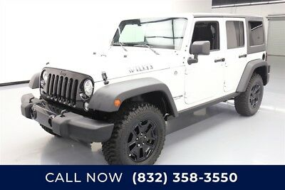 Jeep Wrangler Willys Wheeler W Texas Direct Auto 2018 Willys Wheeler W Used 3.6L V6 24V Manual 4WD SUV