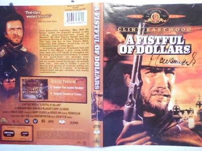 MARIANNE KOCH original signiert – DVD-COVER - A FISTFUL OF DOLLARS