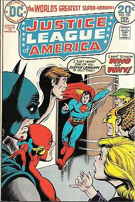 Bronze age, Justice League of America #109 (Jan-Feb 1974, DC) Hawkman quits? FN+