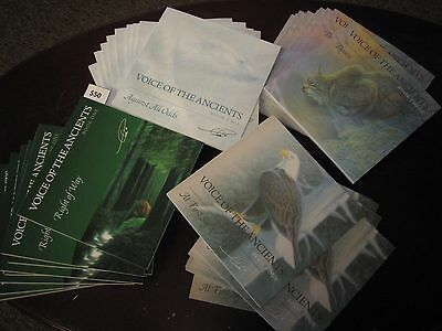 """Voice of the Ancients"" by Cha Rnacircle, all four books signed and shipped!"