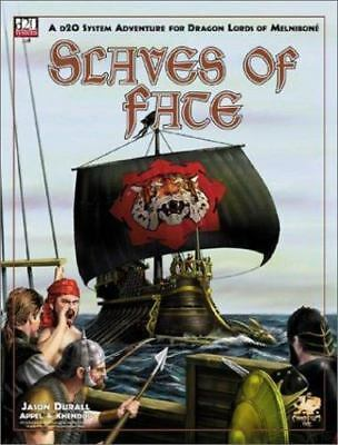 Slaves of Fate: An Adventure for Dragon Lords of Melnibone (Elric/Stormbringer D
