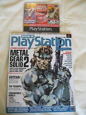 Official UK Playstation Magazine Issue 60 July 2000 with Demo Disc Metal Gear