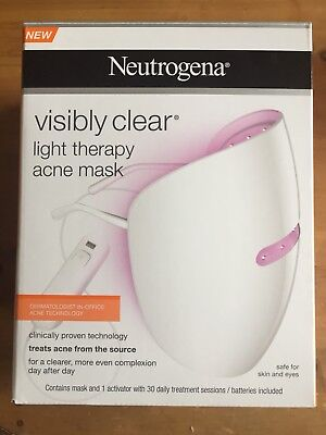 Neutrogena Visibly Clear Light Therapy Acne Mask & Activator