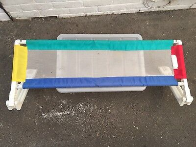 Safetots Extra Wide Mesh Bed-Rail kids safety Bed guard barrier White Baby Safe