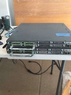 Cisco 2811 2-Port Gigabit With Nm-32a And Octal Cable.