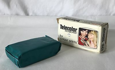 Sealed 20 Exposure 126 TELECOLOR Picture Post Film Cartridge Colour Expired 1976