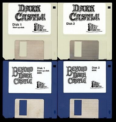 Collection of Vintage Apple Macintosh Games on 32 Floppy Disks