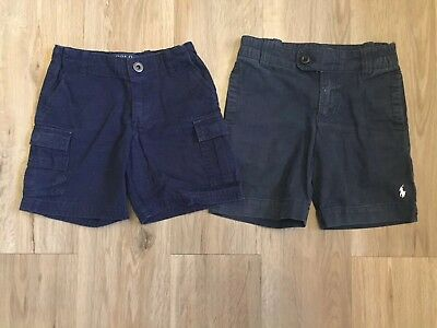 Ralph Lauren Bundle Of 2 Pairs Of Blue Shorts Age 3 And Age 4