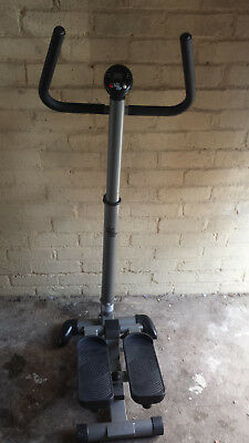 """twist and step"" exercise swivel action machine"