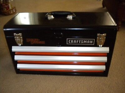 Harley-Davidson 3 drawer tool chest by Craftsman
