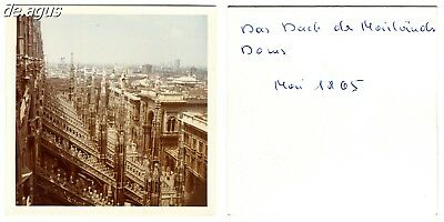 Vintage Photo from 1965  Milan Cathedral