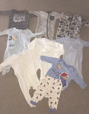 Baby Boy Pyjamas / Sleepsuit Bundle 3-6 Months