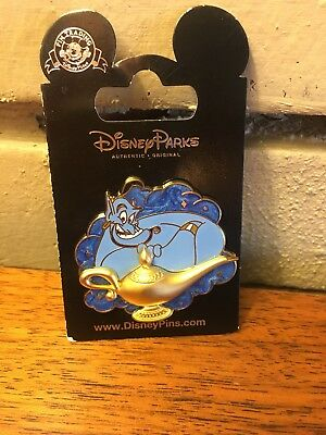 Disney License Trading Pin NEW 1992 movie Aladdin comes GENIE & The Lamp