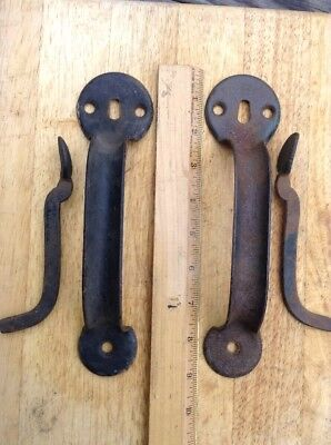 VTG BARN DOOR HANDLE and THUMB LATCH ONLY Stanley Sweetheart