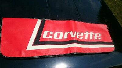 Vintage 1970's Chevrolet Corvette Car Fender Cover Apron Oem Original