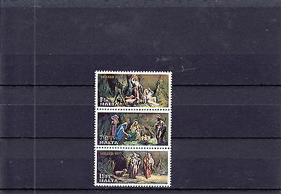 1977 Malta MNH - Christmas as triptych