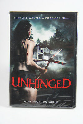 Unhinged (Remake '17) DVD Factory Sealed NEW Kate Lister Lucy-Jane Quinlan