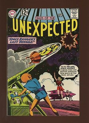 Tales of the Unexpected 72 FN/VF 7.0 *1 Book* 1962,Space Ranger,Horror,Sci-Fi,DC
