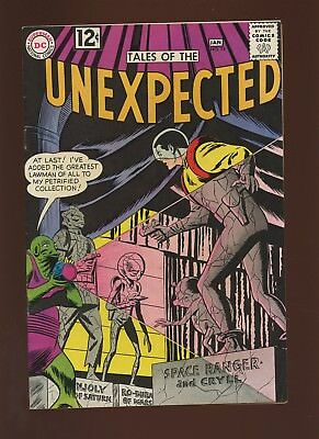 Tales of the Unexpected 74 VF 8.0 * 1 Book Lot * 1962,Space Ranger,Sci-Fi,DC!