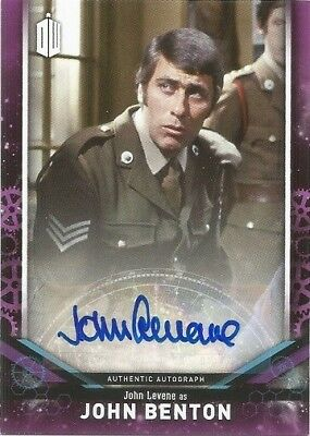 2018 Topps Doctor Who Signature Series John Levene Autograph Auto Card