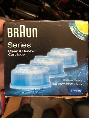 Braun Clean & Renew CCR3 Cleaning Cartridge (Pack of 3)